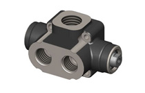 DIVERTER VALVE 3-WAY 2-POSITION