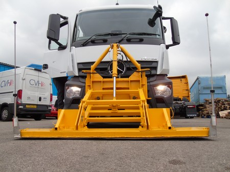 Heathrow magnet truck