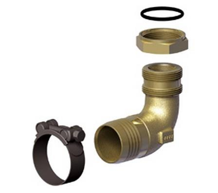 GOLD elbow fittings 90 Degree